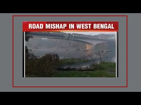West Bengal: Four killed as bus falls into Bhairab river