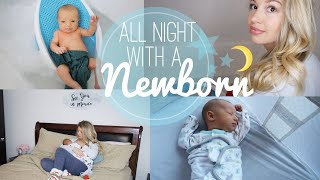 NEWBORN NIGHT TIME ROUTINE