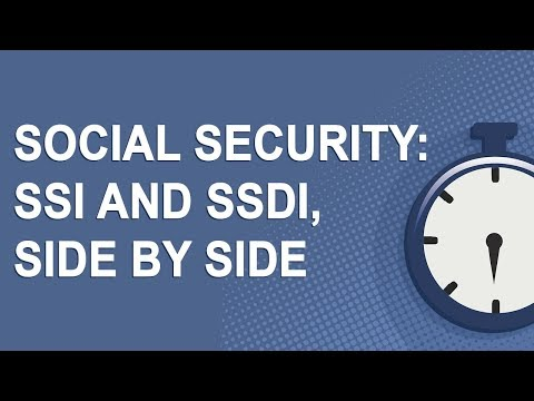 Social Security: SSI And SSDI, Side By Side (2019)