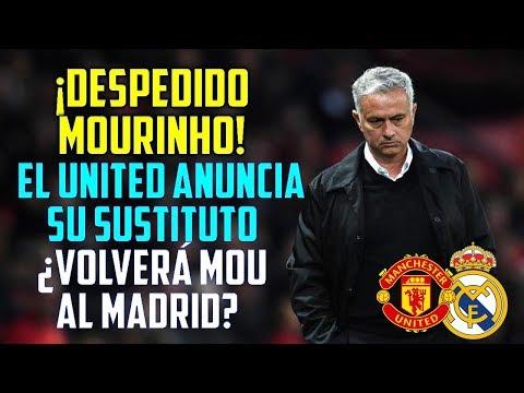 ¡MOURINHO DESPEDIDO DEL UNITED! | EL MANCHESTER NOMBRA SUSTITUTO | ¿VUELVE MOU AL MADRID?