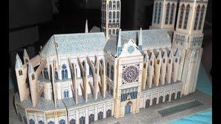 Картонный конструктор 3 D пазл Нотр-Дам де Пари Notre-Dame de Paris 3D Puzzle Designer(Собор Парижской Богоматери (Нотр-Дам-де-Пари) – это один из шедевров мировой готической архитектуры. В..., 2016-04-17T08:27:07.000Z)