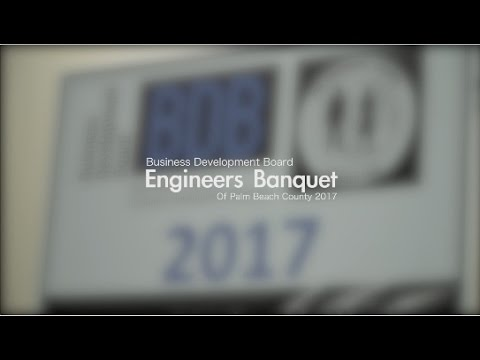 2017 BDB of Palm Beach County Engineering Dinner