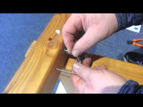 Briloner Stoffparadies: Seilspanntechnik Typ A