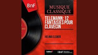 36 Fantasias for Harpsichord: No. 11 in B-Flat Major, TWV 33:11