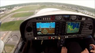 My first flight in the Diamond DA42-NG - Full HD - 1080p