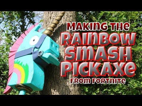 Rainbow Smash Pickaxe From Fortnite