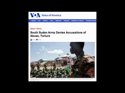 Radio: South Sudan Army Denies Accusations of Abuse, Torture