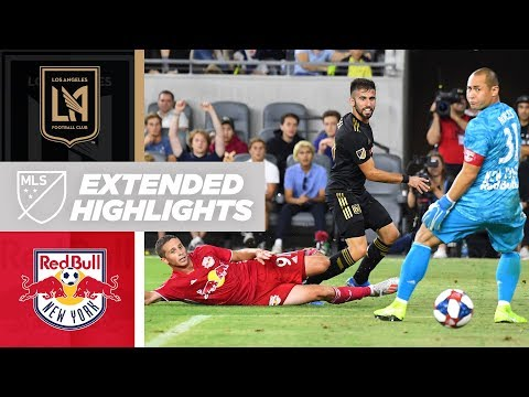 LAFC vs. New York Red Bulls | EXTENDED HIGHLIGHTS - August 11, 2019