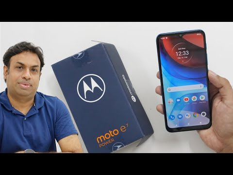 Moto E7 Power Budget Smartphone Unboxing Gaming & Overview