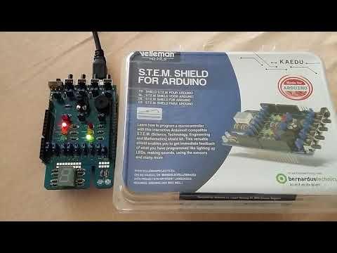 DigitalRead() Arduino Voorbeeld