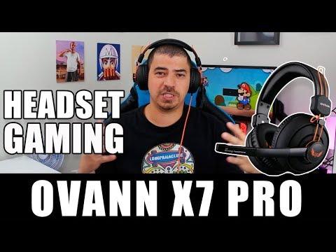 Headset Ovann X7 PRO GAMER -  R$70, EXCELENTE CUSTO BENEFÍCIO!!!