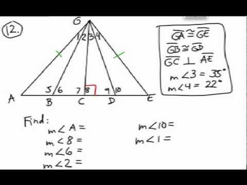 How to Solve Triangle Problems: Missing Parts using