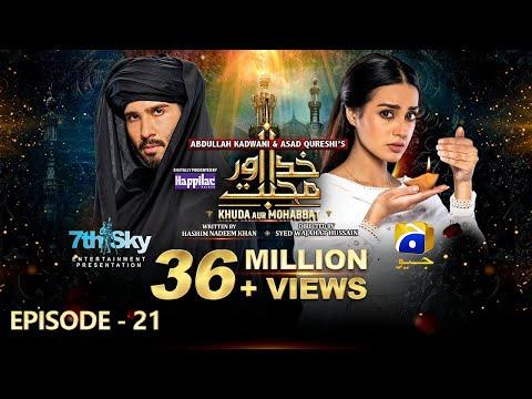 Khuda Aur Mohabbat - Season 3 Ep 21 [Eng Sub] Digitally Presented By Happilac Paints - 2nd July 2021