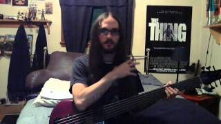 Porcupine Tree - Strip the Soul Fretless Bass Cover