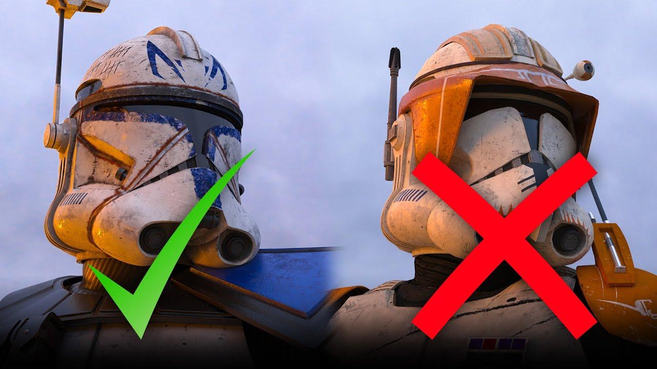 Warum ist Captain Rex unser Profilbild und nicht Cody? | 212th Star Wars Wissen