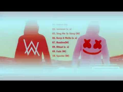 Alan Walker & Marshmello Mix 2017