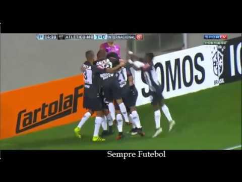 GOL DE FRED! Atlético MG 3 x 1 Internacional Campeonato Brasileiro 2016   YouTube