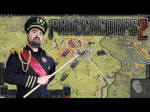 Panzer Corp II - Classic WWII Strategy Hex Game!