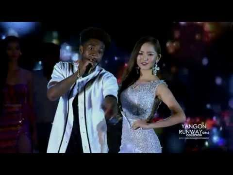SAMMIE - Come With Me & Had a Few [ Live ] @ YANGON RUNWAY GIRLS COLLECTION ft: SEAN KINGSTON
