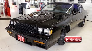 1987 Buick Regal Grand National WE2 Enhanced and Modified 3 8 Turbo
