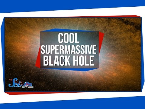 A Strangely Cool Supermassive Black Hole!
