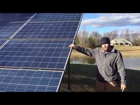 solar panels hook up grid