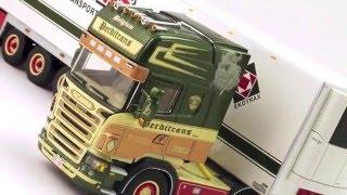 model truck world wsi perditrans scania r series topline refrigerated trailer