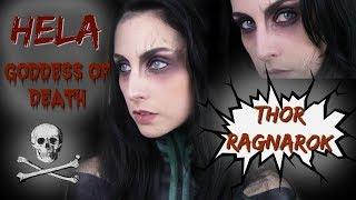 THOR RAGNAROK - HELA - ASGARDIAN GODDESS OF DEATH MAKEUP TUTORIAL