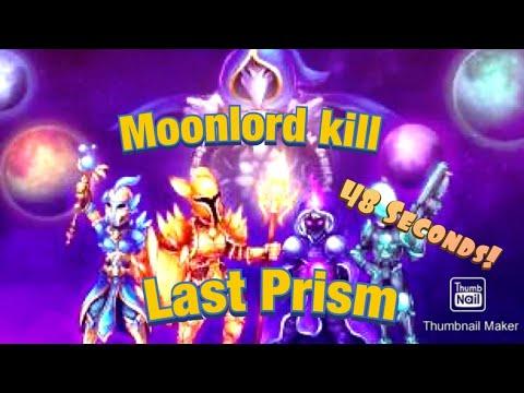 Terraria 1.3 Mobile 48 Second Moonlord kill w/ Last Prism