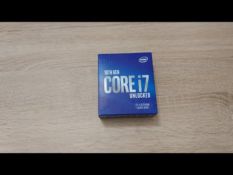Процесор Intel Core i7-10700K 3.8GHz / 16MB (BX8070110700K) s1200 BOX