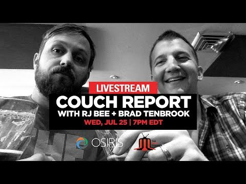 Couch Report w/ RJ Bee + Brad TenBrook :: 7/25/18 :: Bill Graham Civic Auditorium :: Pre-Show streaming vf