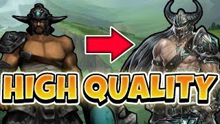 HIGH QUALITY TRYNDAMERE GAMEPLAY! 20 KILLS WITH NEW PC SETUP - League of Legends Full Gameplay