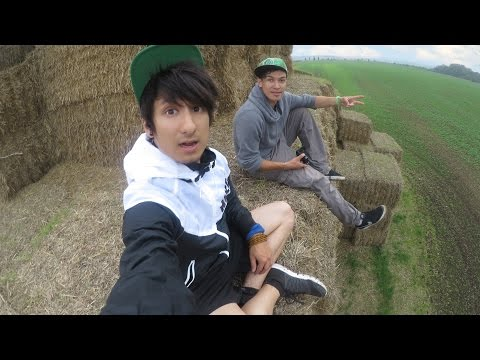 REAL-LIFE MINECRAFT Tempel gebaut - Longboard Tour Tag 18 | Julien Bam