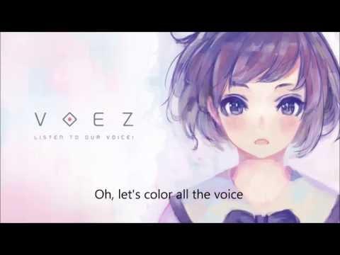 【VOEZ】Night Keepers - Colorful Voice (完整版 Full) (歌詞+mp3下載) (Lyrics+mp3 download)