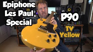 Epiphone Les Paul Special Electric Guitar - TV Yellow - 2020 - Inspired By Gibson Line