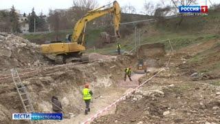Новые очистные сооружения начали строить в селе под Севастополем