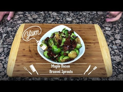 Make This...Maple Bacon Brussel Sprouts