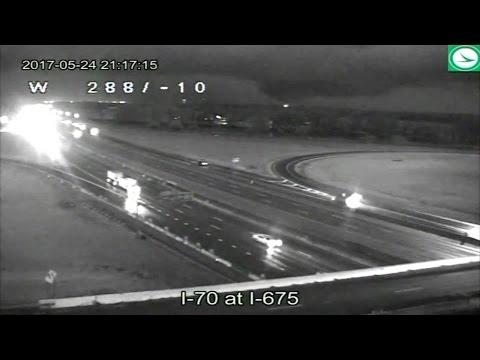 Randi West - Dayton Ohio Tornado caught on traffic camera