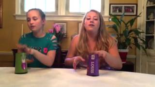 Hannah and Leah's Cup song!
