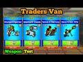 Traders Van Weapons Test + Personal Opinion - Pixel Gun 3D