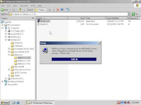 SharingInternet Net Proxy Installation