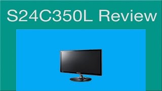 samsung S24C350L Monitor Review