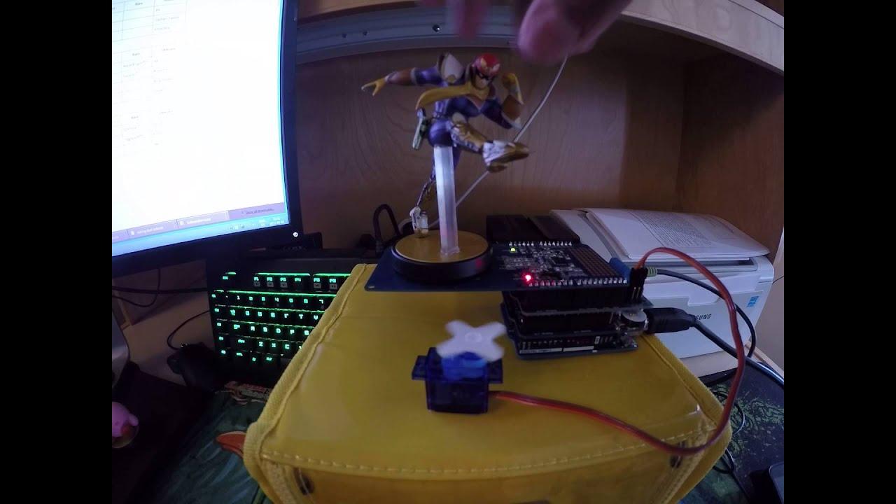 how to make a rotating platform