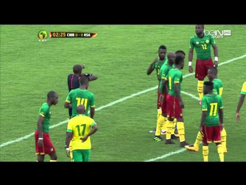 Cameroon vs South Africa: 2017 Africa Cup of Nations qualification Day 3