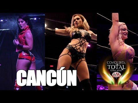 CONQUISTA TOTAL en CANCÚN | Lucha Libre AAA Worldwide