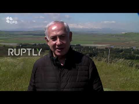 Israel: Netanyahu to name occupied Golan Heights settlement after Trump
