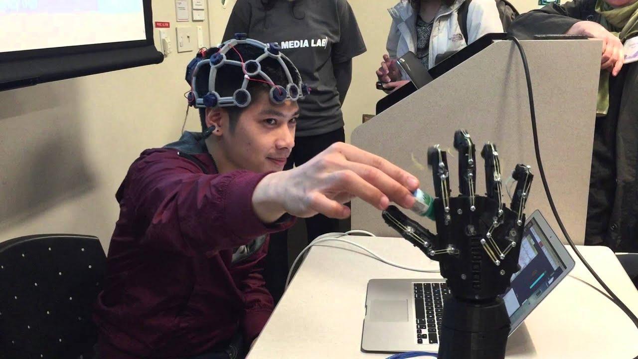 Neuro-Powered Robotics (Ultracortex + OpenBCI)