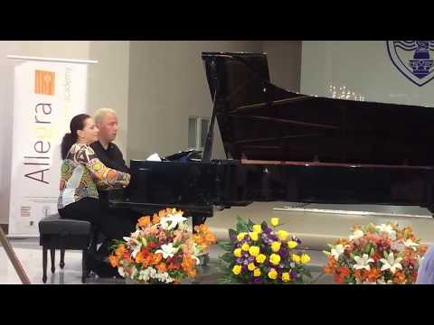Genova & Dimitrov in Recital in Russe 2017 | Samuel Barber - Hesitation Tango