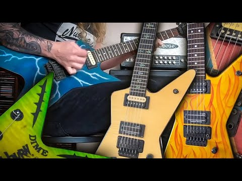 MOST AMAZING DIMEBAG GUITAR COLLECTION