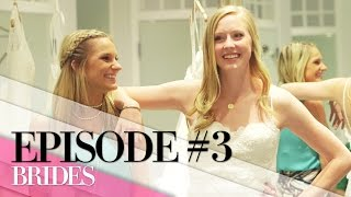 Finding the Perfect Wedding Dress | Ep. 3 | BRIDES Live Wedding
